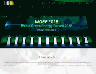 able-lab.com screenshot