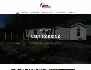 ablehousing.com screenshot