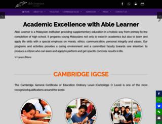 ablelearners.com screenshot