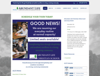 ablifeschool.com screenshot
