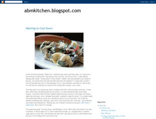 abmkitchen.blogspot.com screenshot