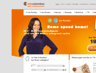 abnahme-www.telecolumbus.de screenshot