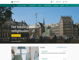 abnamro.co.in screenshot