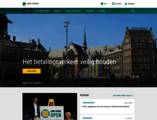 abnamro.com screenshot