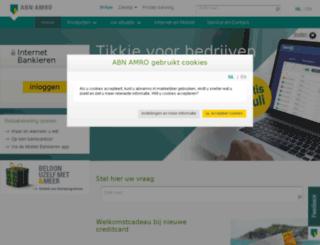 abnamrobank.nl screenshot