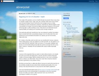 abnerpolat.blogspot.com screenshot