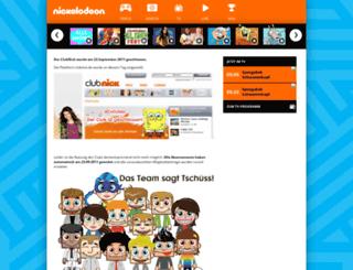 abo.clubnick.de screenshot