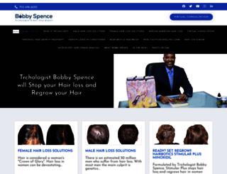 abobbyspence.com screenshot