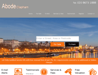 abodelondon.co.uk screenshot