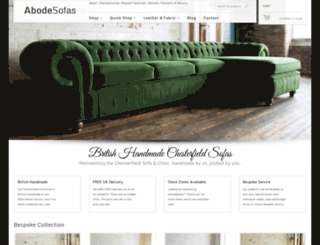 abodesofas.com screenshot