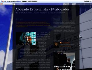 abogadoespecialista.blogspot.com screenshot