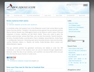 abogadomo.com screenshot