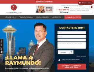 abogadoraymundo.com screenshot