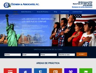 abogados-de-inmigracion.com screenshot