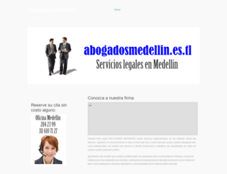 abogadosmedellin.es.tl screenshot