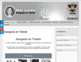 abogadotoledo.net screenshot