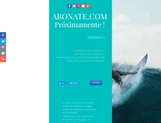 abonate.com screenshot