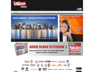 abone.com.tr screenshot