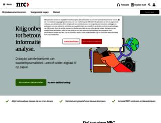 abonnementen.nrc.nl screenshot