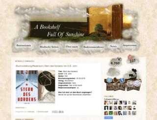 abookshelffullofsunshine.blogspot.de screenshot