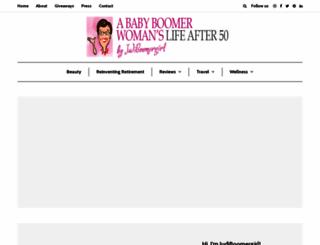 aboomerslifeafter50.com screenshot