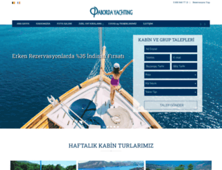 abordayachting.com.tr screenshot