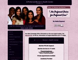 abortionclinicservicesaikensc.com screenshot