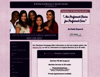 abortionclinicservicescharlestonsc.com screenshot