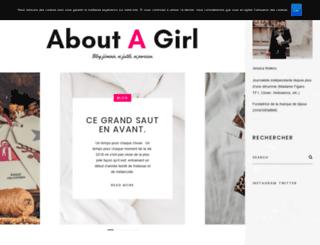 about-a-girl.com screenshot