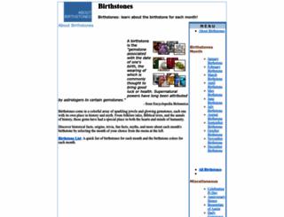 about-birthstones.com screenshot
