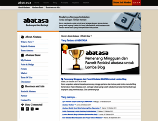about.abatasa.co.id screenshot