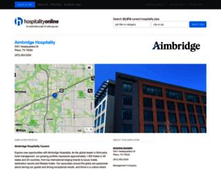 about.aimbridgehospitality.com screenshot