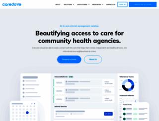 about.caredove.com screenshot