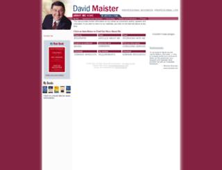 about.davidmaister.com screenshot