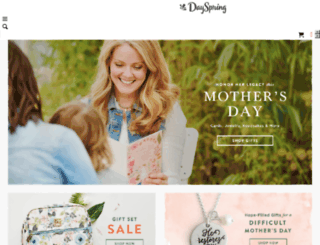about.dayspring.com screenshot