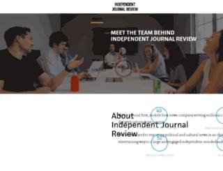 about.ijreview.com screenshot
