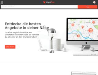 about.locafox.de screenshot