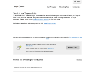 about.sensis.com.au screenshot
