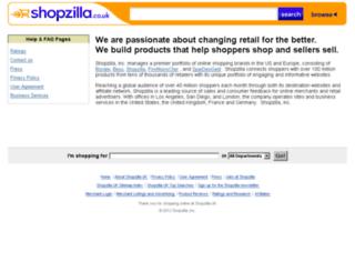 about.shopzilla.co.uk screenshot