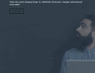 about.wemarket.com screenshot