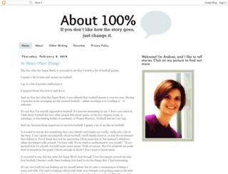 about100percent.com screenshot