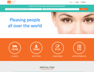 aboutclinic.com screenshot