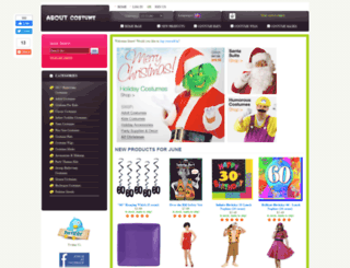 aboutcostume.com screenshot
