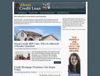 aboutcreditloan.com screenshot