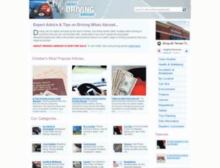 aboutdrivingabroad.co.uk screenshot