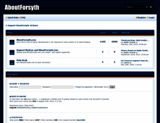 aboutforsyth.net screenshot