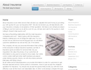 aboutinsurance.co.za screenshot