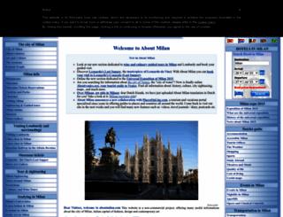 aboutmilan.com screenshot