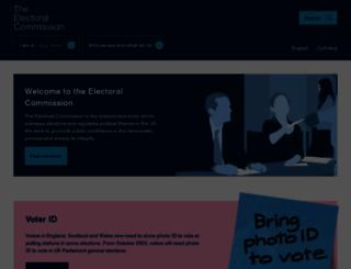 aboutmyvote.co.uk screenshot