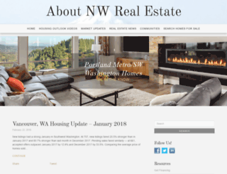 aboutnwrealestate.com screenshot